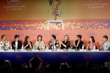 Virginie Efira 'Sibyl' Press Conference - The 72nd Annual Cannes Film Festival