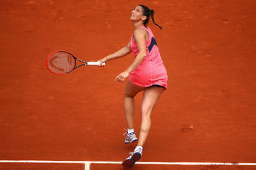 Virginie Razzano 2015 French Open - Day Two