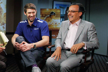 Antonio Lucio Visa Launches Go World With Michael Phelps