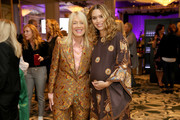 Lili Bosse and Cleo Wade attend Visionary Women celebrate Gloria Steinem in conversation with Cleo Wade at the Beverly Wilshire, A Four Seasons Hotel on November 18, 2019 in Beverly Hills, California.