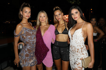 Vita Sidorkina 2018 Sports Illustrated Swimsuit At PARAISO During Miami Swim Week, W South Beach - Red Carpet & Front Row