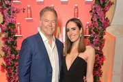 Vital Proteins CEO Kurt Seidensticker and Louise Roe attend Vital Proteins Collagen Water Product Launch Event on March 06, 2019 in Irvine, California.