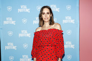 TV personality Louise Roe attends the Vital Proteins Launches Feed Your Beauty Popup Store in Soho NYC on September 5, 2018 in New York City.