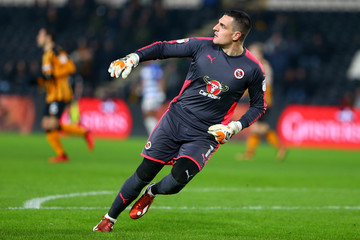 Vito Mannone Hull City v Reading - Sky Bet Championship
