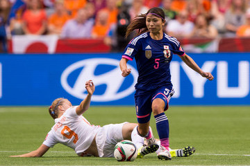 Vivianne Miedema Japan v Netherlands: Round of 16 - FIFA Women's World Cup 2015