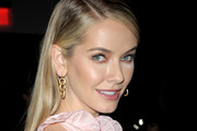 Actor Olivia Jordan attends the Vivienne Tam front row during New York Fashion Week at Spring Studios on February 15, 2018 in New York City.