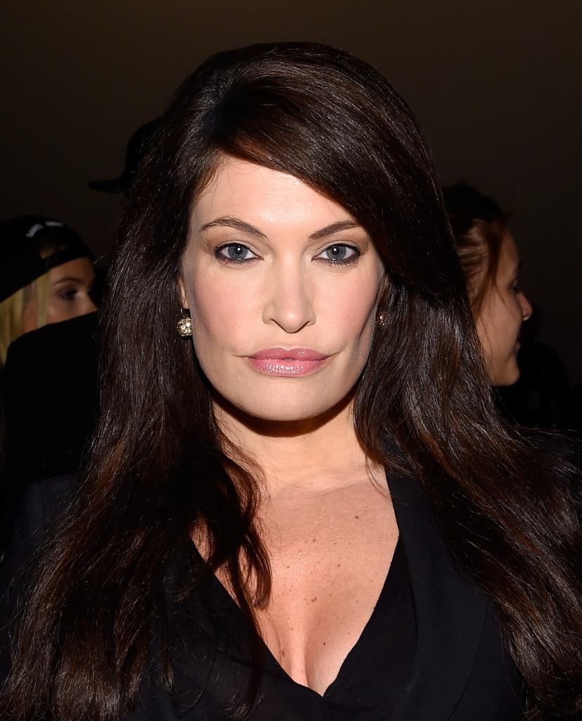 Kimberly Guilfoyle In Vivienne Tam Front Row Mercedes