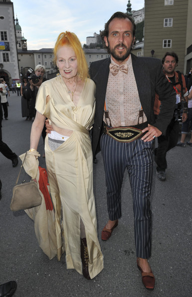 Vivienne Westwood with cool, Husband Andreas Kronthaler