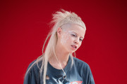 Yolandi Visser and Ninja attend the Vivienne Westwood  show as part of the Paris Fashion Week Womenswear Fall/Winter 2018/2019 on March 3, 2018 in Paris, France.