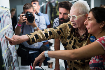 Vivienne Westwood Model Boards - London Fashion Week SS15