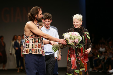 Vivienne Westwood Models Walk for Vivienne Westwood at Milan Collections Men SS16