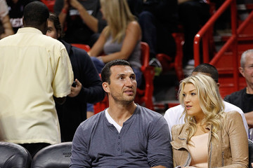 Vladimir Klitschko Los Angeles Lakers v Miami Heat
