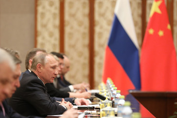 Vladimir Putin Belt and Road Forum for International Cooperation - Leaders' Arrival
