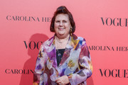 Suzy Menkes attends Vogue 30th Anniversary Party at Casa Velazquez on July 12, 2018 in Madrid, Spain.