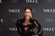 Natasha Poly in Francesco Scognamiglio - All the Looks From the 'Vogue' 95th Anniversary Party