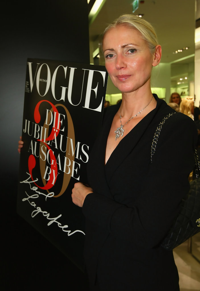 Vogue S Covers Gigi Hadid: Christiane Arp In Vogue Fashion's Night Out