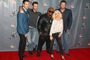 Christina Aguilera and Blake Shelton Photos Photo