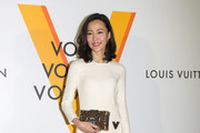 "Yoshino Kimura attends the Louis Vuitton Exhibition ""Volez, Voguez, Voyagez"" on April 21, 2016 in Tokyo, Japan."