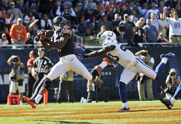 Vontae Davis and Alshon Jeffery - Indianapolis Colts v Chicago Bears