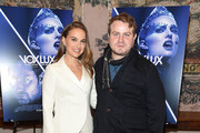 """Natalie Portman and writer/director Brady Corbet attend the """"Vox Lux"""" New York Screening at the Whitby Hotel on December 13, 2018 in New York City."""