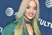 Dascha Polanco arrives at the Vulture Festival Los Angeles 2019 Day 1 at Hollywood Roosevelt Hotel on November 9, 2019 in Hollywood, California.