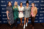 (L-R) Pam Wasserstein, Dascha Polanco, Candice Patton, Susan Kelechi Watson and Cameron Esposito attends Vulture Festival Presented By AT&T at The Roosevelt Hotel on November 09, 2019 in Hollywood, California.