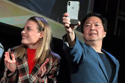 (L-R) Gillian Jacobs and Ken Jeong attend Vulture Festival Presented By AT&T at The Roosevelt Hotel on November 10, 2019 in Hollywood, California.