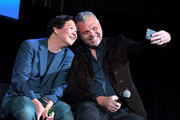 Ken Jeong (L) and Chris McKenna onstage at Vulture Festival Presented By AT&T at The Roosevelt Hotel on November 10, 2019 in Hollywood, California.