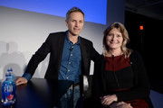 Editor-in-chief at New York magazine Adam Moss and novelist Jennifer Egan attend Vulture Festival presented by AT&T: One Book, One New York at Milk Studios on May 19, 2018 in New York City.