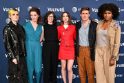 Gayle Rankin, Liz Flahive,  Carly Mensch, Carly Mensch, Chris Lowell and  Sydelle Noel attend the Vulture Festival Presented By AT&T - Milk Studios, Day 1 at Milk Studios on May 19, 2018 in New York City.