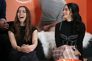 Cristin Milioti and Camila Mendes attend The Vulture Spot presented by Amazon Fire TV 2020 at The Vulture Spot on January 25, 2020 in Park City, Utah.
