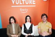 (L-R) Carrie Brownstein, Annie Clark, and Bill Benz attend The Vulture Spot presented by Amazon Fire TV 2020 at The Vulture Spot on January 25, 2020 in Park City, Utah.