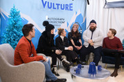 Paige, Florence Pugh, Lena Headey, Nick Frost and Jack Lowden attend the Vulture Spot during Sundance Film Festival on January 27, 2019 in Park City, Utah.