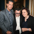 Suzy Menkes and Albert Elbaz