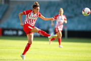 Jodie Taylor of Melbourne City shoots at goal during the W-League Grand Final match betweenSydney FC and Melbourne City FC at Allianz Stadium on February 18, 2018 in Sydney, Australia.