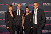 """(L-R) Lisa Rinna, Harry Hamlin, Kyle Richards, and Mauricio Umansky attend WCRF's """"An Unforgettable Evening"""" at Beverly Wilshire, A Four Seasons Hotel on February 27, 2020 in Beverly Hills, California."""