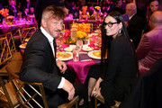 """Sean Penn and Demi Moore attend WCRF's """"An Unforgettable Evening"""" at the Beverly Wilshire Four Seasons Hotel on February 28, 2019 in Beverly Hills, California."""