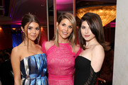 """(L-R) Olivia Jade Giannulli, Lori Loughlin and Isabella Rose Giannulli attend WCRF's """"An Unforgettable Evening"""" at the Beverly Wilshire Four Seasons Hotel on February 28, 2019 in Beverly Hills, California."""