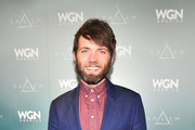 Actor Seth Gabel attends WGN America's Presentation of the upcoming drama 'SALEM' premiering Spring 2014, at Winter TCA held at The Langham Huntington Hotel and Spa on January 12, 2014 in Pasadena, California.