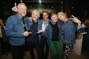 (L-R) John Plunkett, Louis Rossetto, Ian Stewart, Barbara Kuhr, and Jane Metcalfe attend WIRED25 Summit: WIRED Celebrates 25th Anniversary With Tech Icons Of The Past & Future on October 15, 2018 in San Francisco, California.