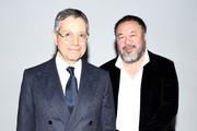 Jeffrey Deitch and Ai Weiwei attend the WSJ Magazine 2016 Innovator Awards at Museum of Modern Art on November 2, 2016 in New York City.
