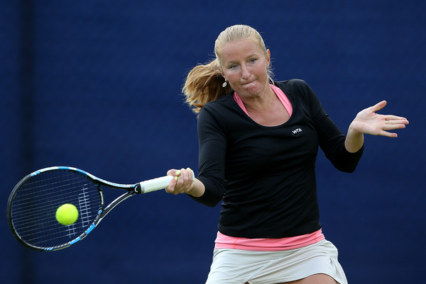 Lauren Davies Cycling: Alla Kudryavtseva In WTA Aegon Open Nottingham