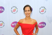 Ana Ivanovic attends the annual WTA Pre-Wimbledon Party presented by Dubai Duty Free at the Kensington Roof Gardens on June 23, 2016 in London, England.