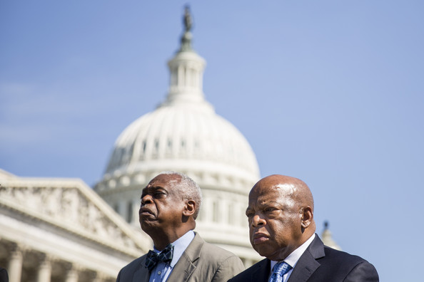 John Lewis Holds a News Conference