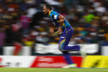 Wahab Riaz Barbados Tridents vs. Guyana Amazon Warriors - 2018 Hero Caribbean Premier League (CPL) Tournament