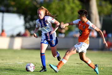 Wai Ki Cheung W-League Rd 7 - Brisbane v Newcastle