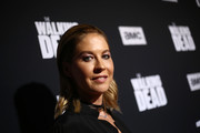 Jenna Elfman attends The Walking Dead Premiere and Party on September 23, 2019 in West Hollywood, California.