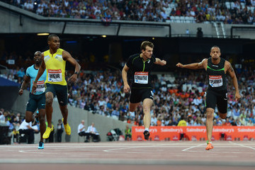 Wallace Spearmon Sainsbury's Anniversary Games: Day 1