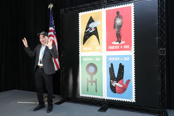 "Walter Koenig ""Star Trek"" USPS Stamp Launch"