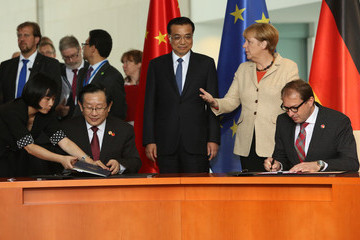 Wan Gang German-Chinese Government Consultations